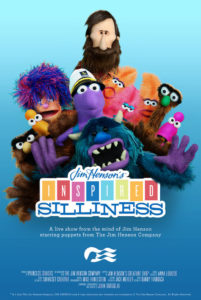 """""""Jim Henson's Inspired Silliness"""" Puppet Show to Debut Onboard New Sky Princess and Enchanted Princess Image: Princess Cruises"""